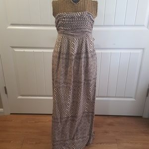 Eden & esyllte strapless maxi dress